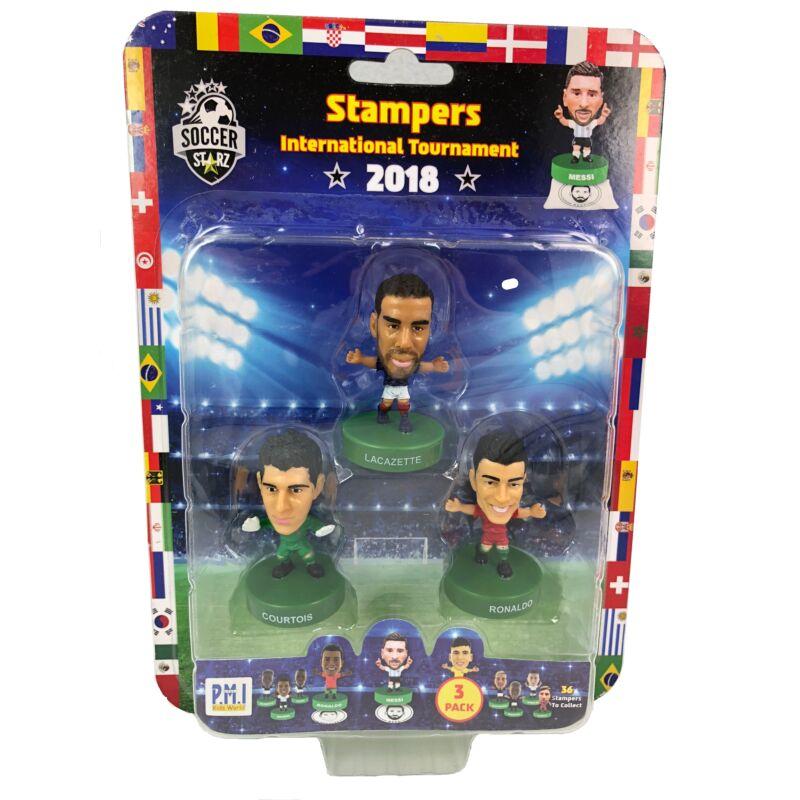 Soccer Starz focista figura - 3 db-os
