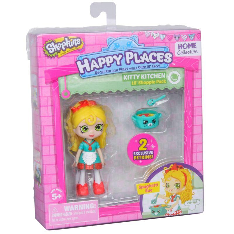 Happy Places játékbaba kiegészítőkkel - Spaghetti Sue