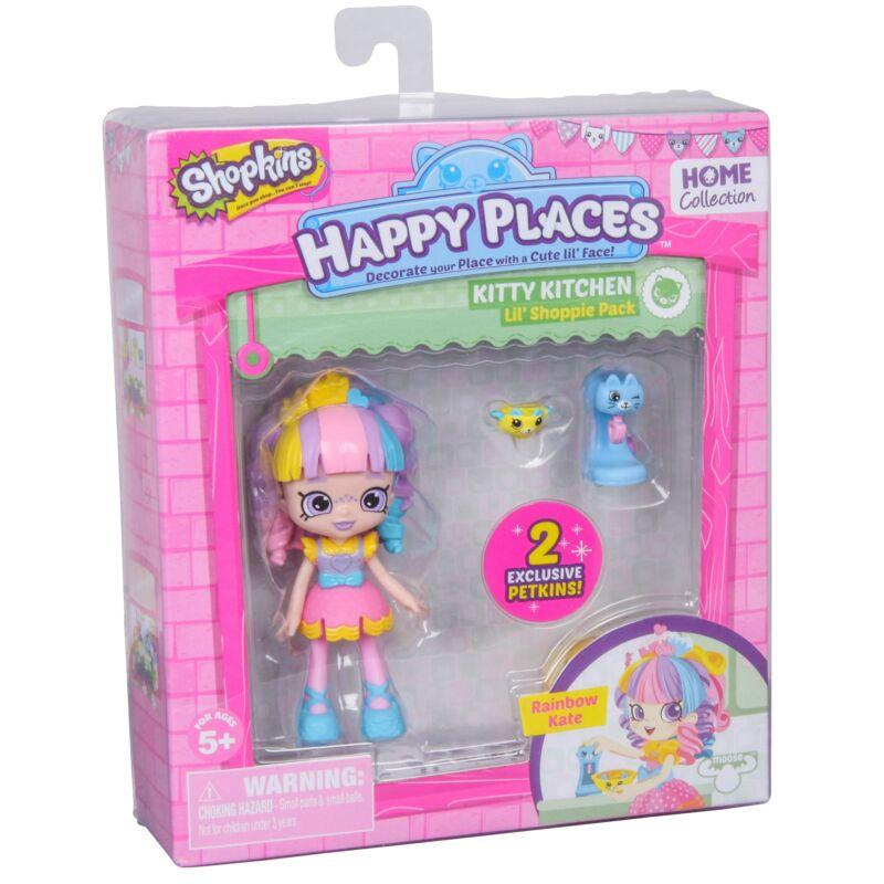 Happy Places játékbaba kiegészítőkkel - Rainbow Kate