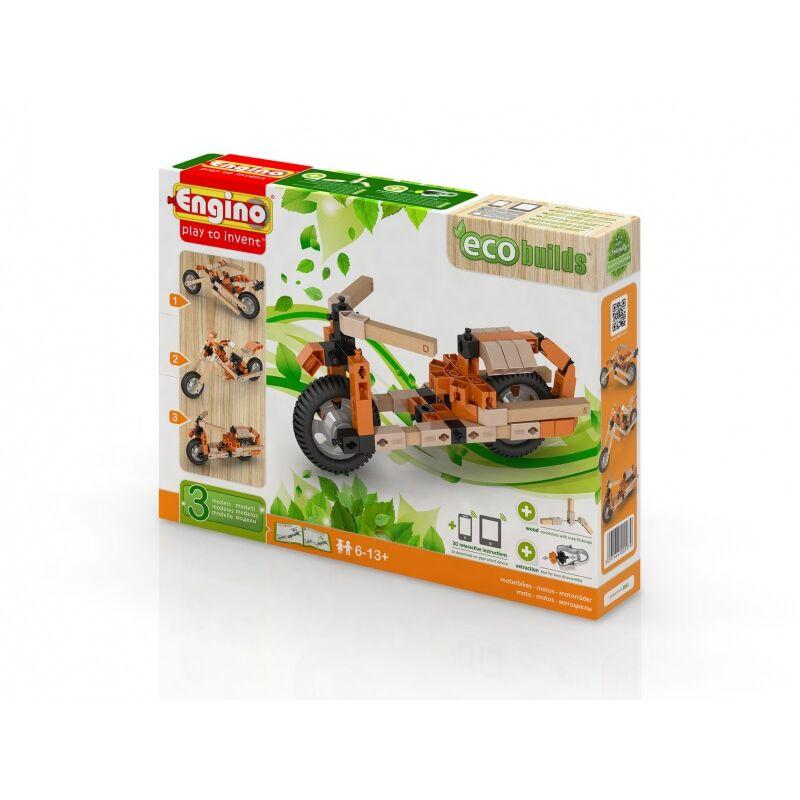 Engino Eco motorok építőjáték szett