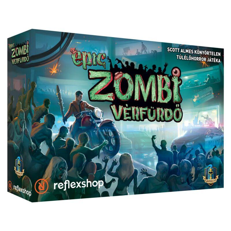 Tiny Epic Zombi vérfürdő társasjáték