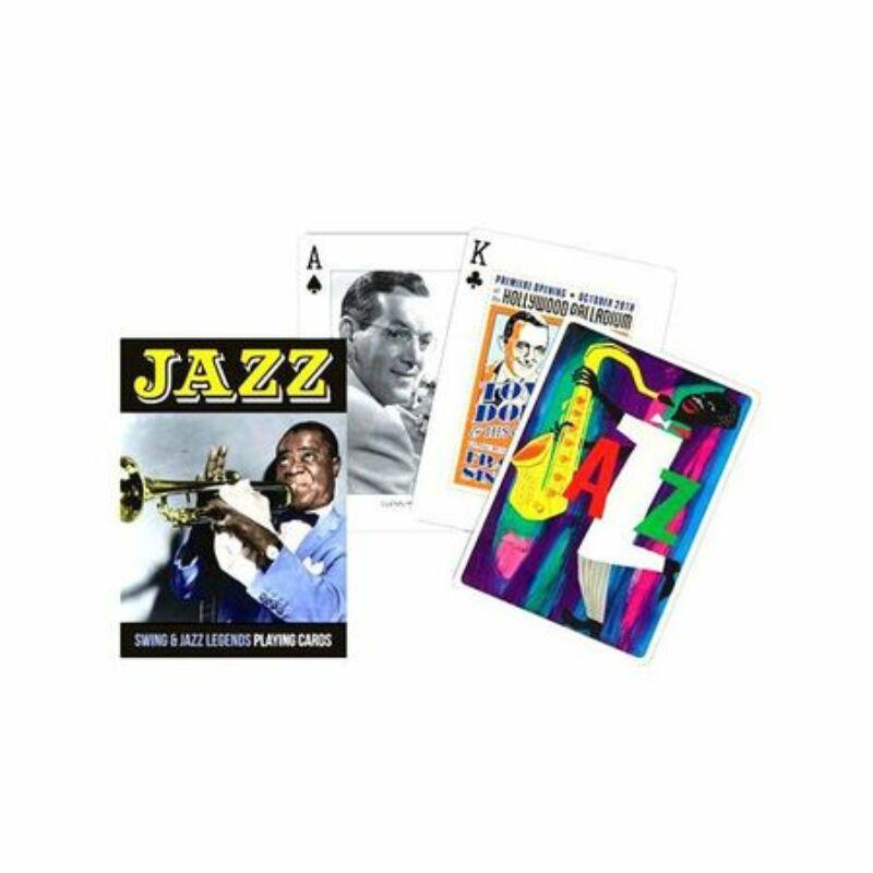 Jazz römi kártyapakli