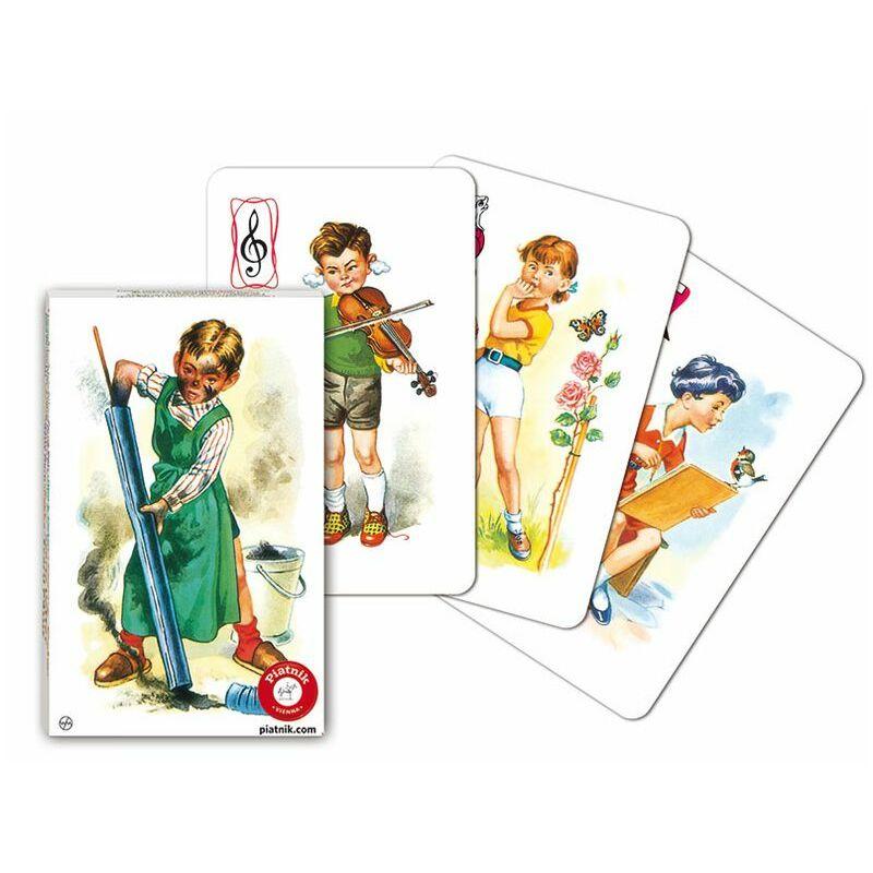 Fekete Péter kártya - gyerekek