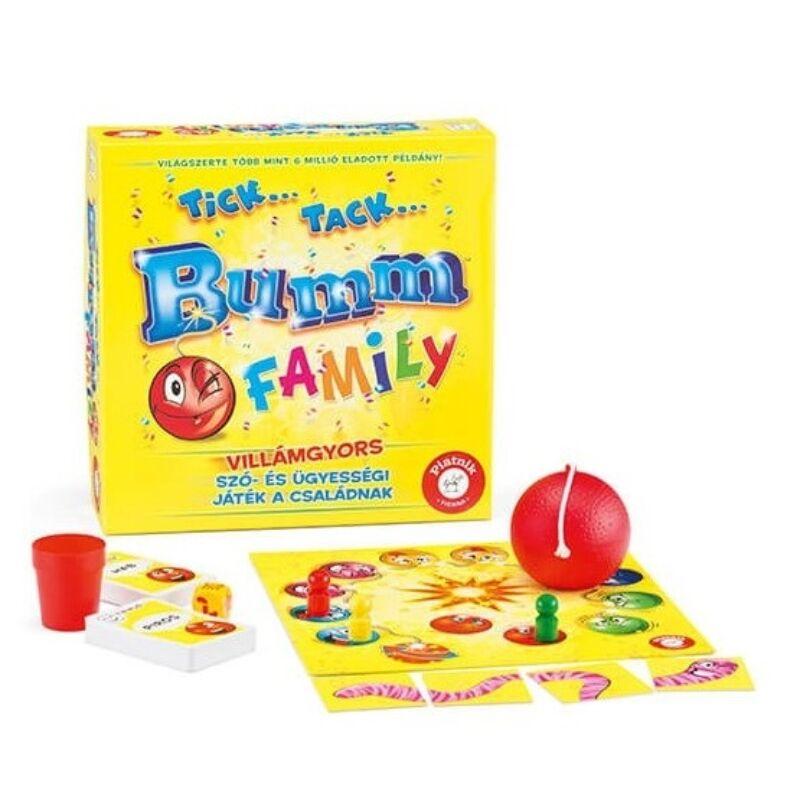Tick..Tack..Bumm Family társasjáték
