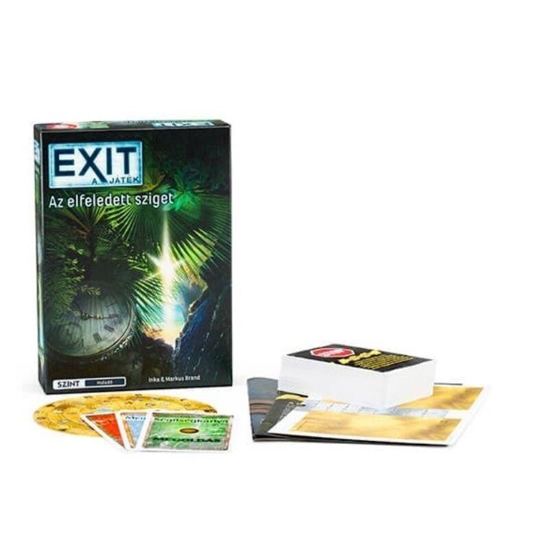 EXIT 4. - Elfeledett sziget társasjáték
