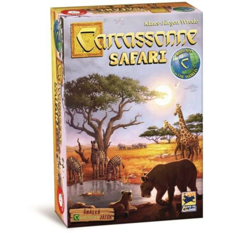 Carcassone Safari társasjáték