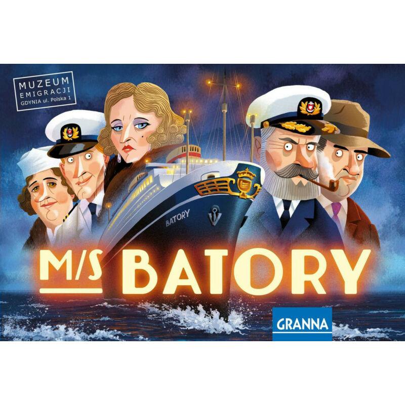 M/S Batory társasjáték