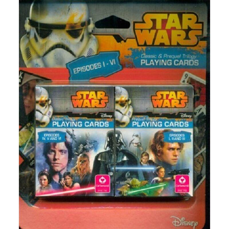 Disney: Star Wars I-VI dupla kártya
