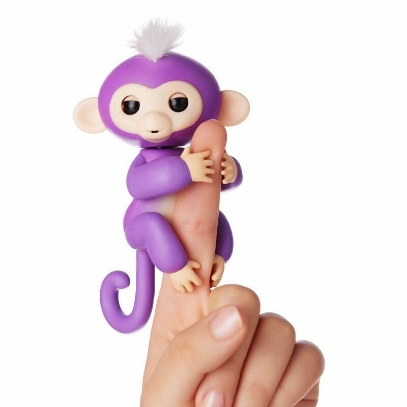 Fingerlings - ujj állatka - Mia, lila majom