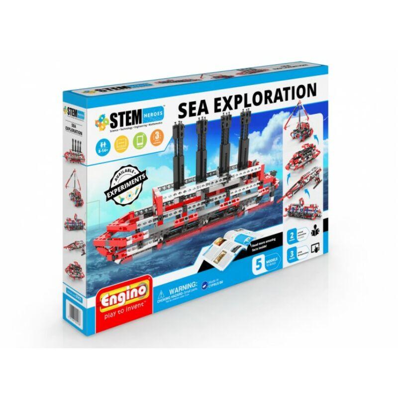 Engino stem tengeri kutatás