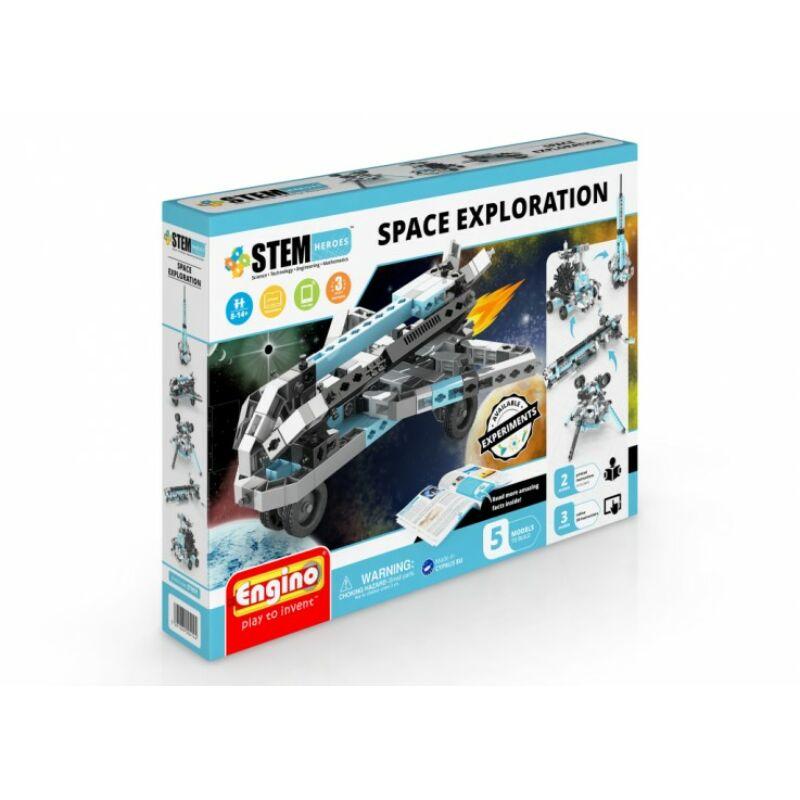 Engino stem űrkutatás építőjáték