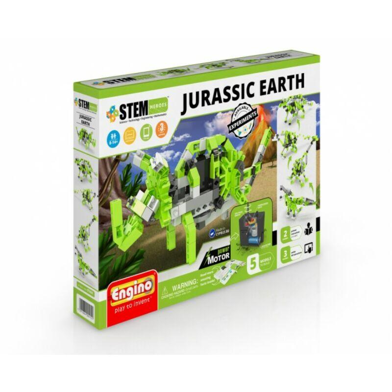 Engino stem Jurassic világ motorizált építőjáték