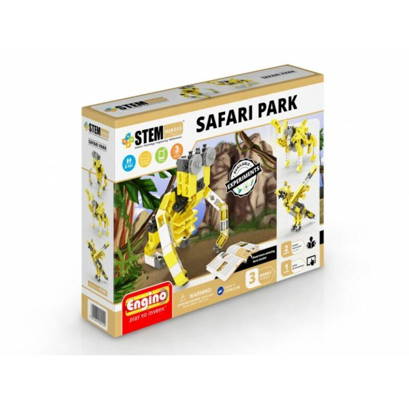 Engino stem safari park építójáték