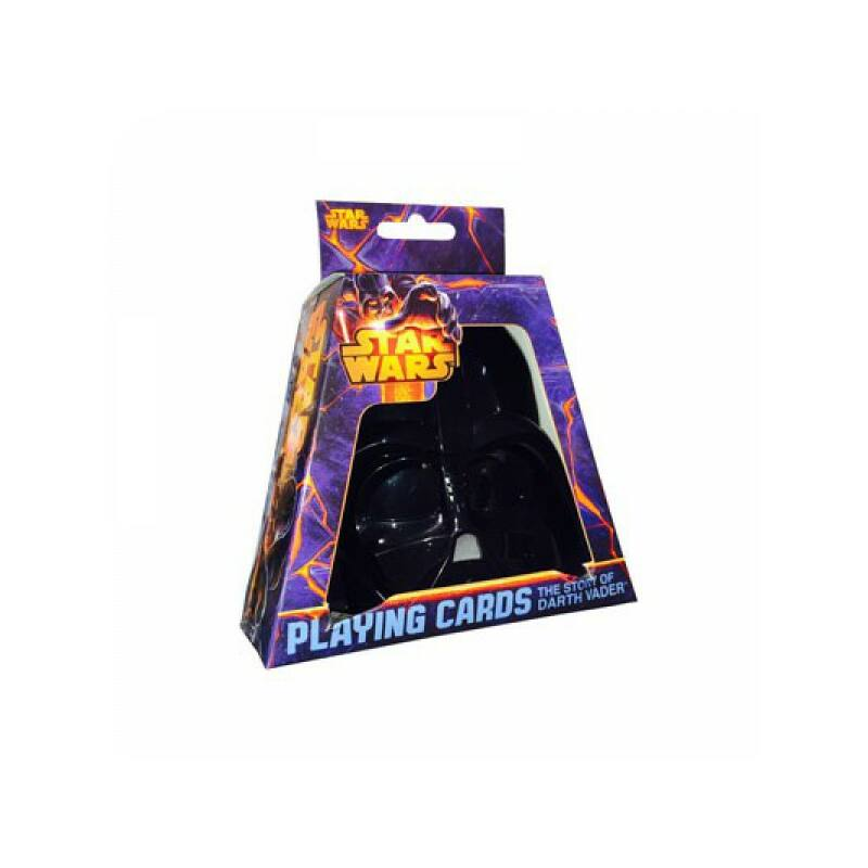 Star Wars Darth Vader sisak kártya