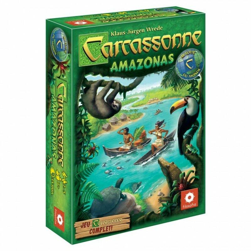 Carcassone Amazonas társasjáték