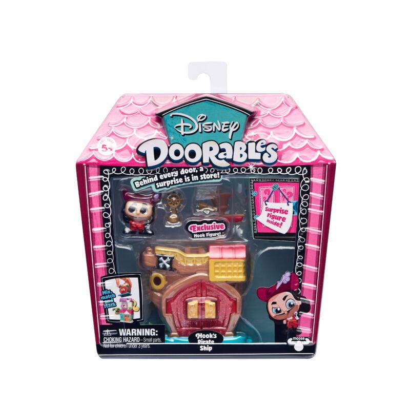 Doorables játékszett - Hook's Pirate Ship