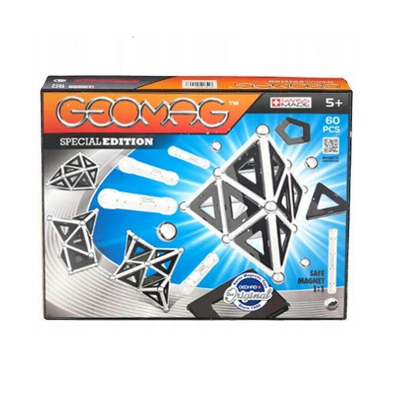 Geomag Special Edition Panels építő szett - fekete, 60 darabos készlet