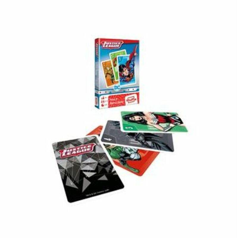 DC Comics Igazság Ligája Fekete Péter és memória kártya