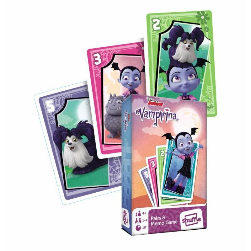 Vampirina mini Fekete péter és memória kártya