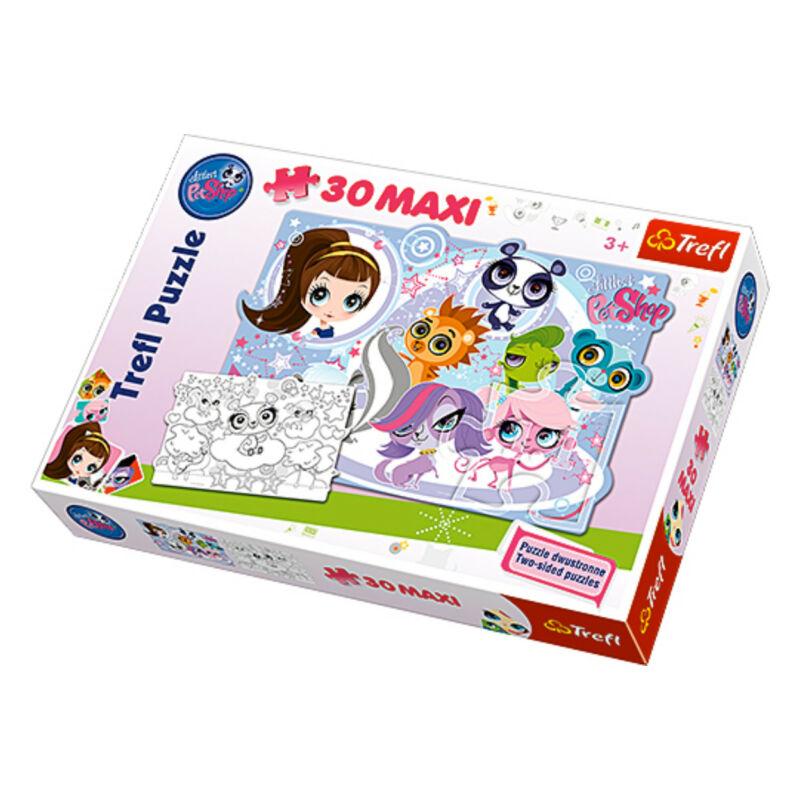 Trefl: Littlest Petshop 30 db-os maxi puzzle
