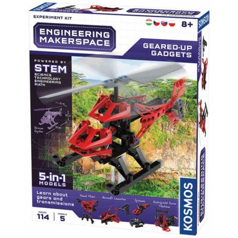 Geared Up Gadgets építő játék