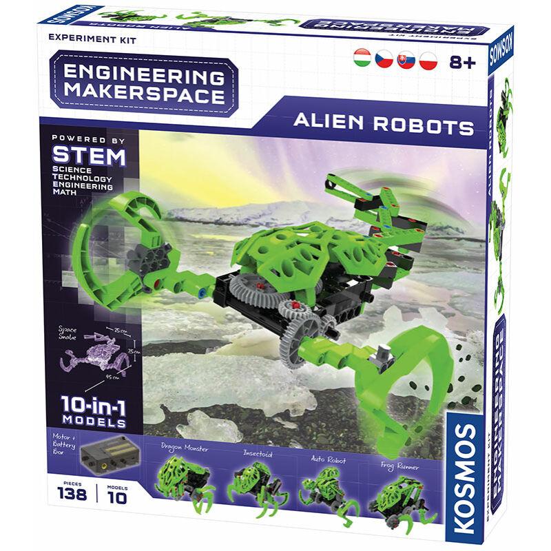 Alien Robots építő játék