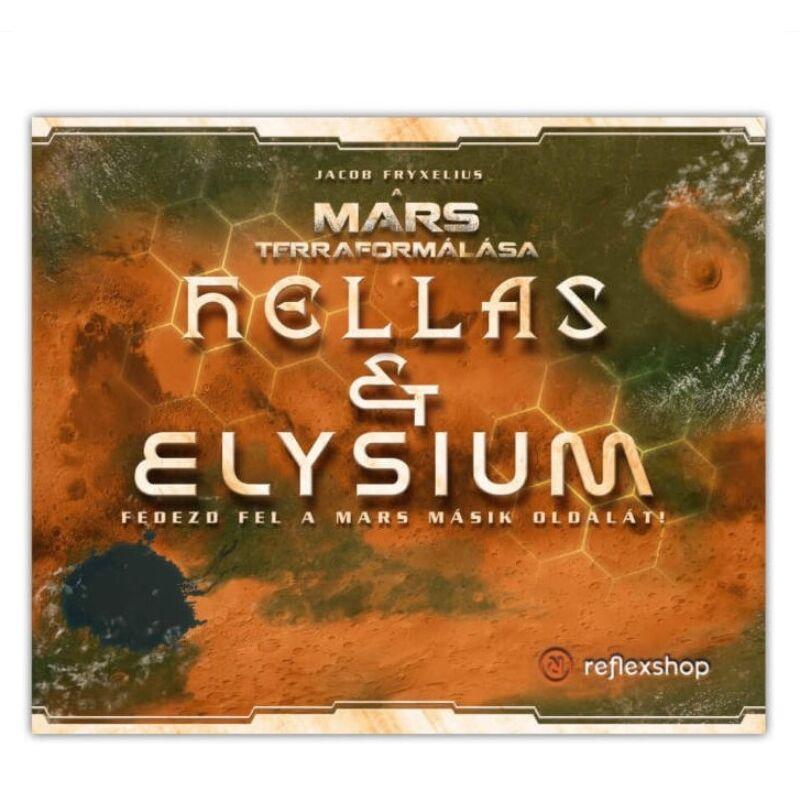 A Mars Terraformálása: Hellas és Elysium kiegészítő