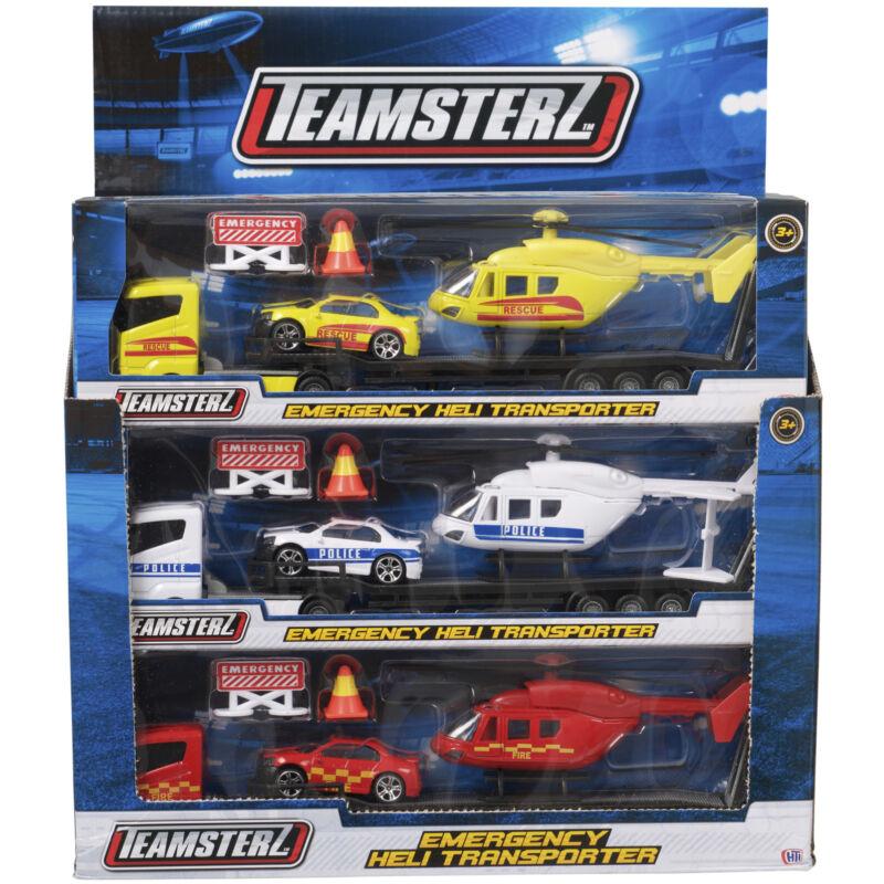 Teamsterz mentőhelikopter-szállító, többféle