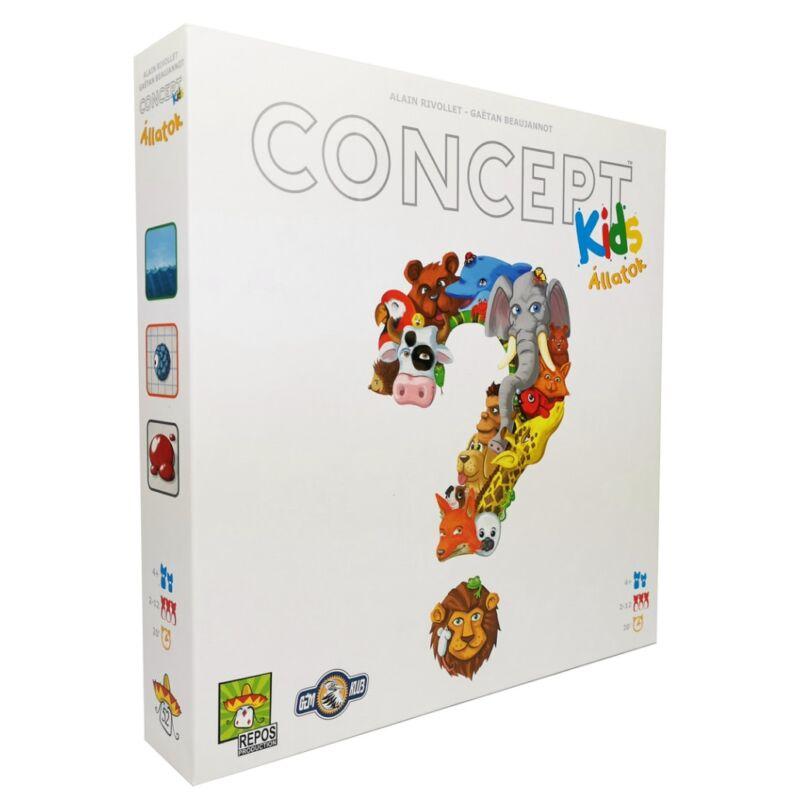 Concept Kids: Állatok társasjáték