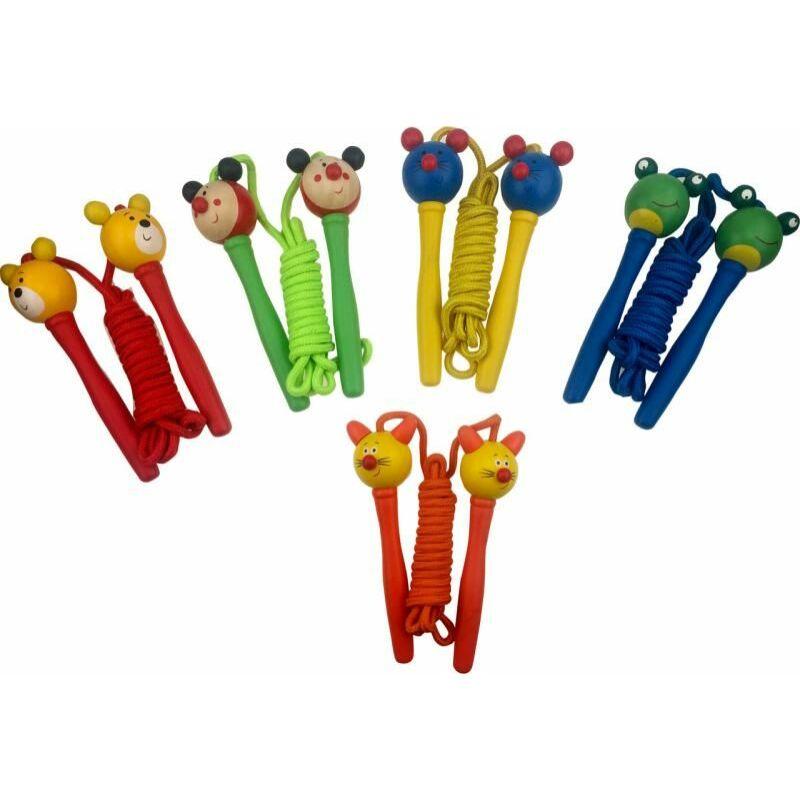 Ugrálókötél, többféle - állatos - Woody