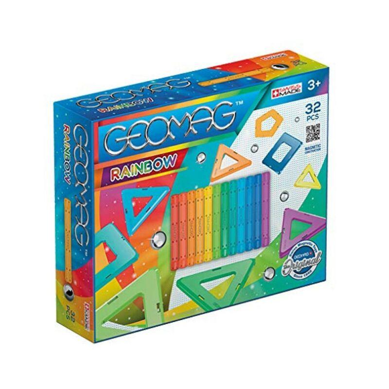 Geomag Rainbow 32 darabos készlet