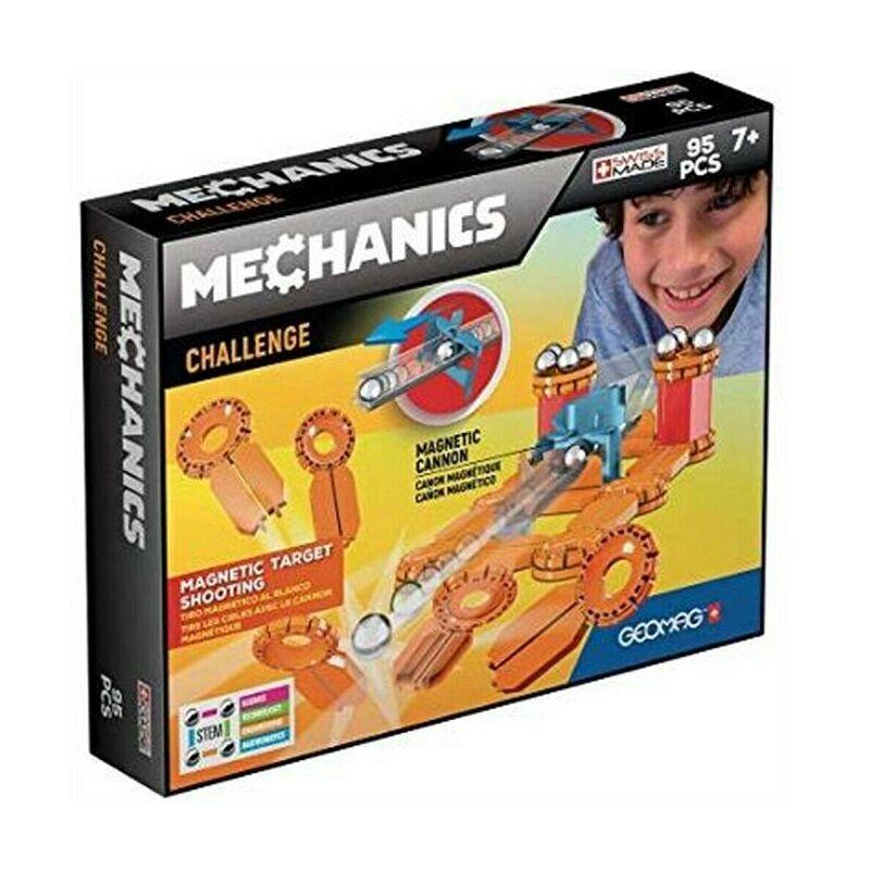 Geomag Mechanics Challenge 95 darabos készlet