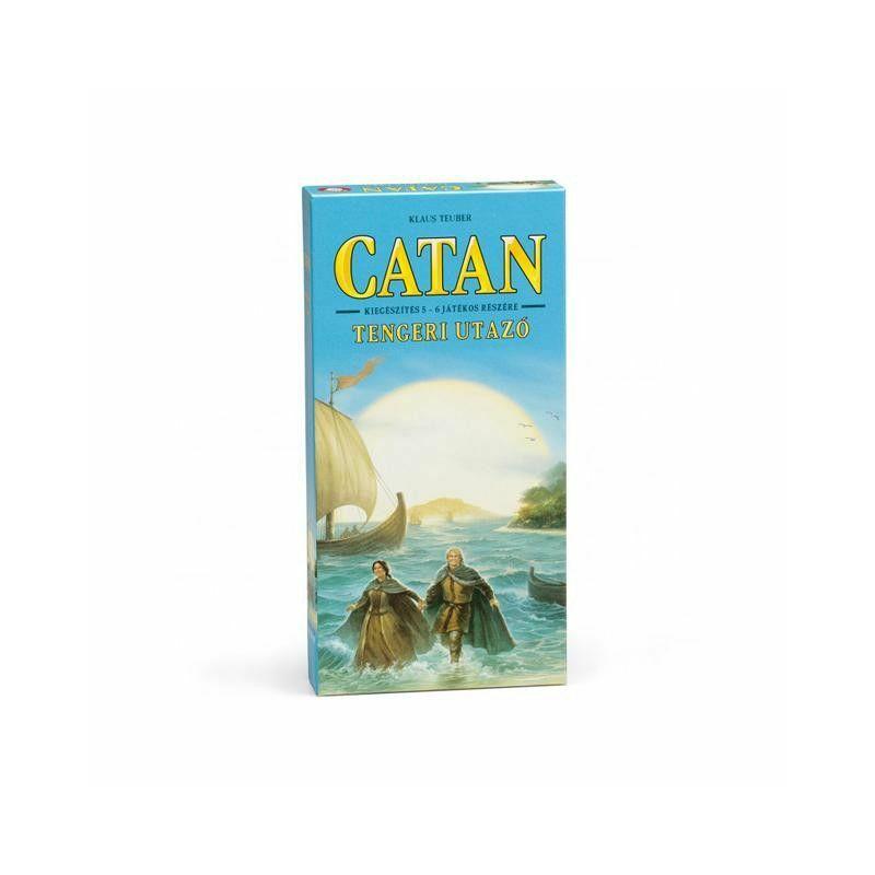 Catan - Tengeri utazó társasjáték, kiegészítő 5-6 fő részére
