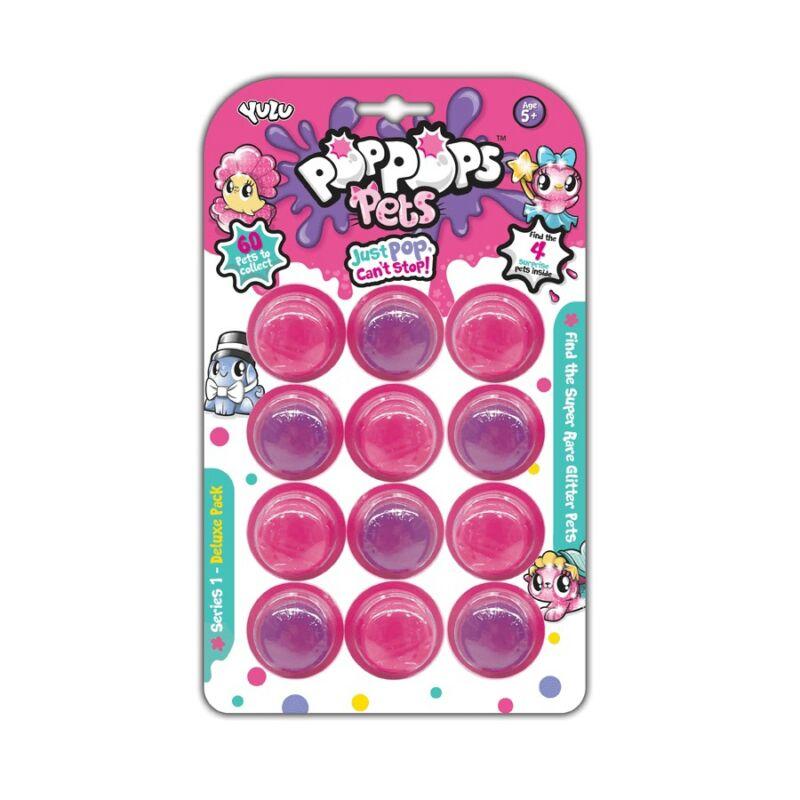 Pop Pops Pets, 12-es slime csomag 4 meglepetés állatkával