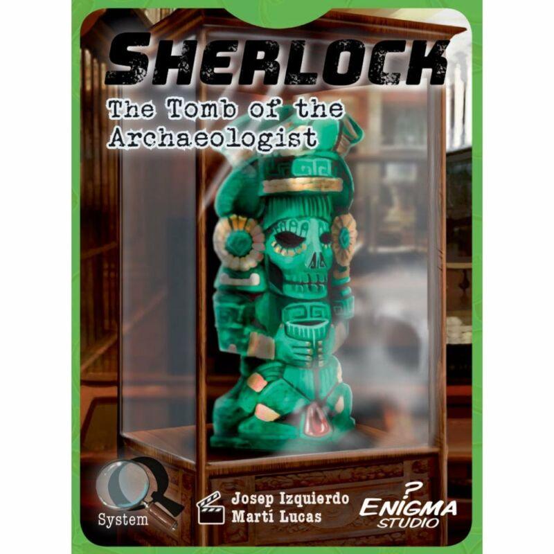 Sherlock: The Tomb of the Archeologist társasjáték