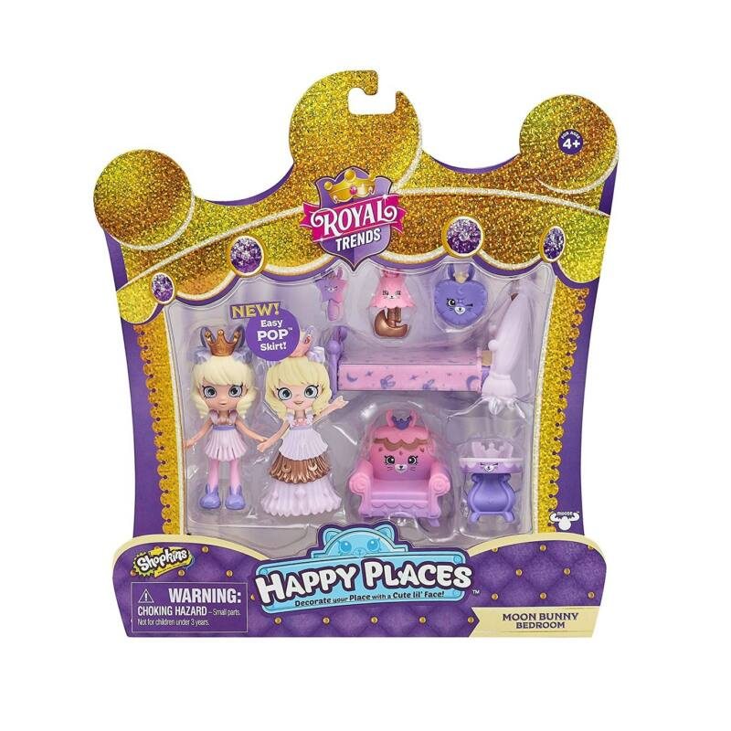 Happy Places királyi dekoráló szett - Moon Bunny Bedroom