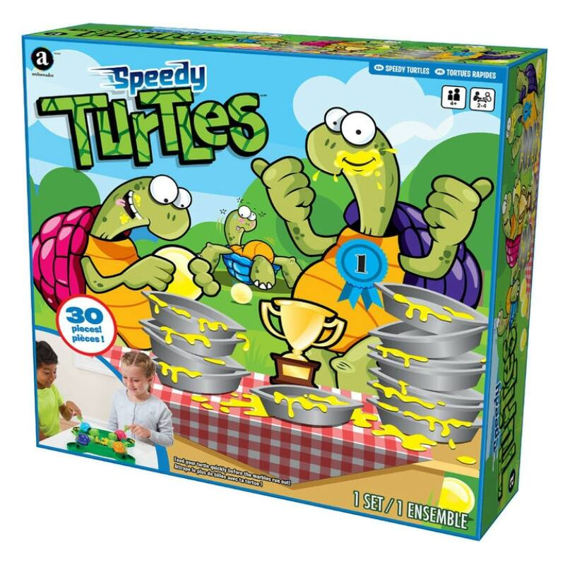 Éhes Teknősök társasjáték