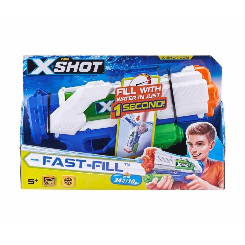 X-Shot Fast Fill gyorstöltő vizipisztoly