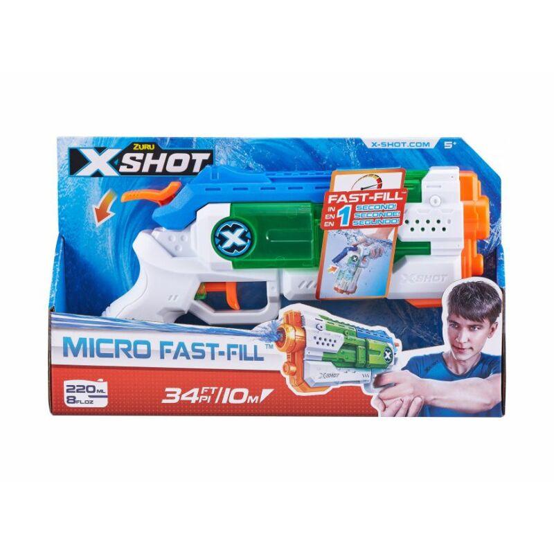 X-Shot Micro Fast Fill gyorstöltő vizipisztoly