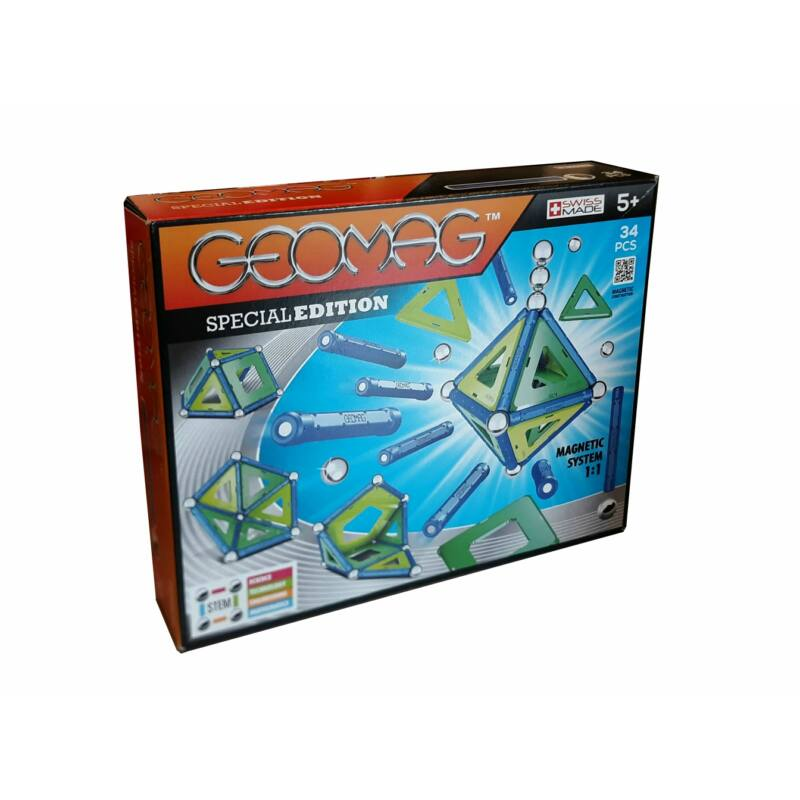 Geomag Special Edition Cold color, 34 db-os mágneses építőjáték