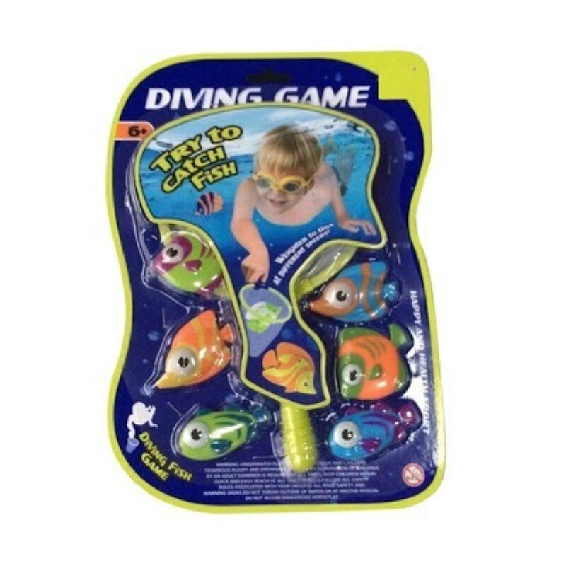 Műanyag halász játék