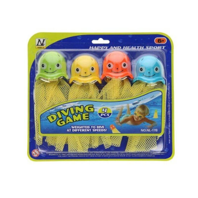 Medúzás halász játék