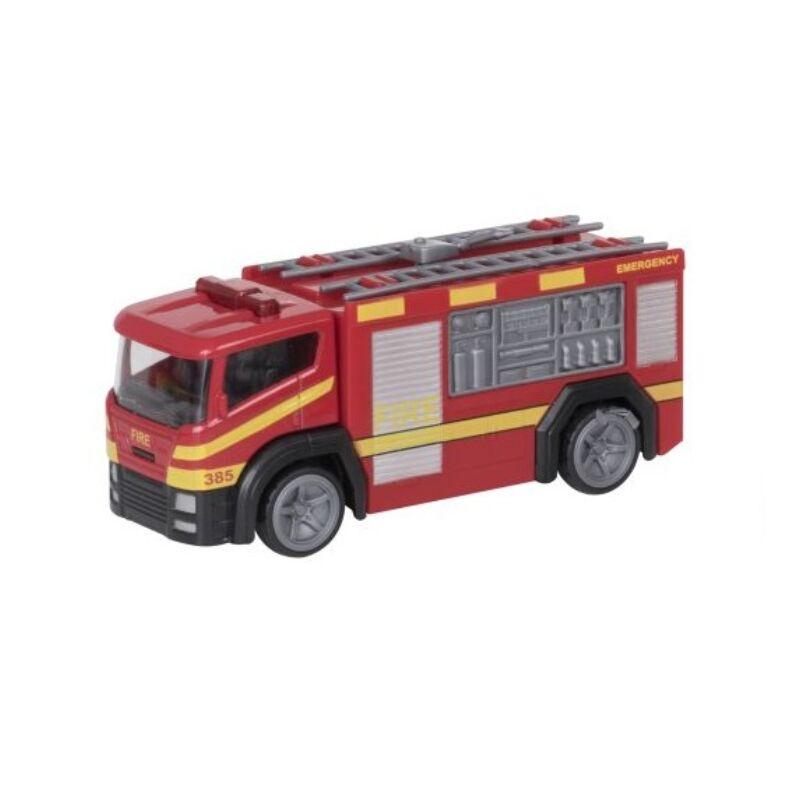 Tűzoltóautó vízágyúval, 14 cm-es