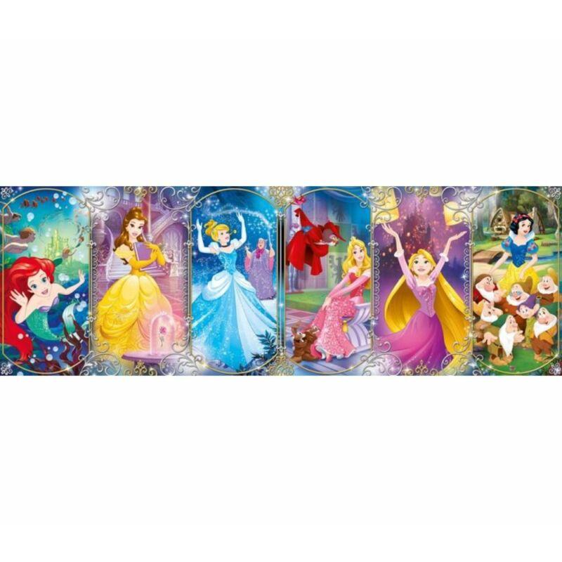 Disney Hercegnők 1000 db-os panoráma puzzle - Clementoni
