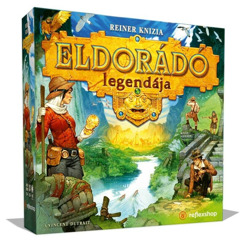 Eldorádó legendája társasjáték - exkluzív kiadás