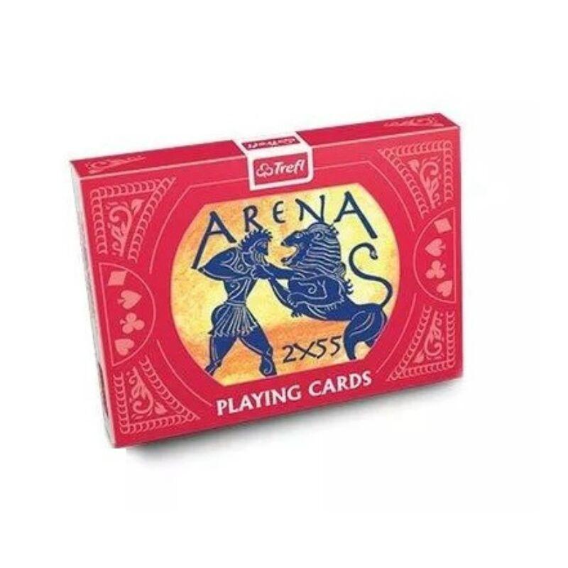 Trefl: Arena - 2x55 lapos franciakártya