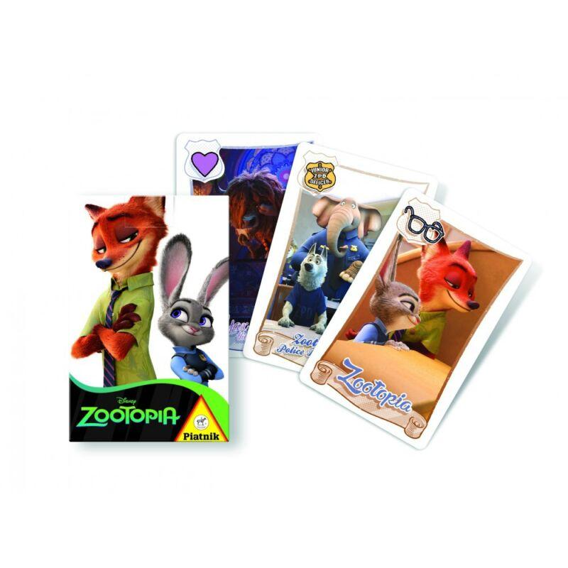 Zootopia - Állati nagy balhé kártyajáték
