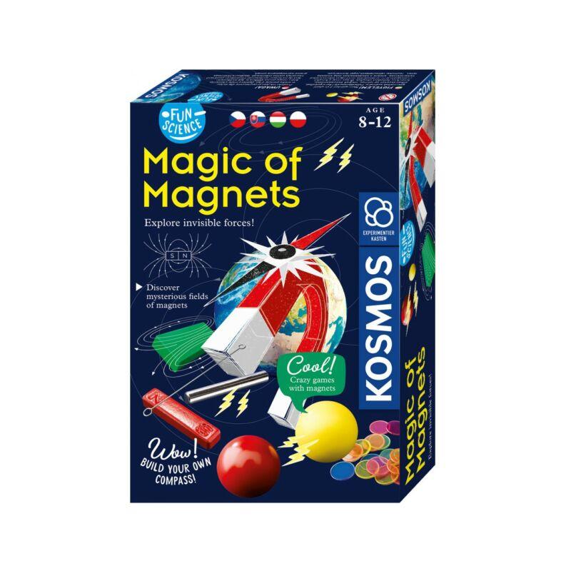 Magic of Magnets kísérletező készlet