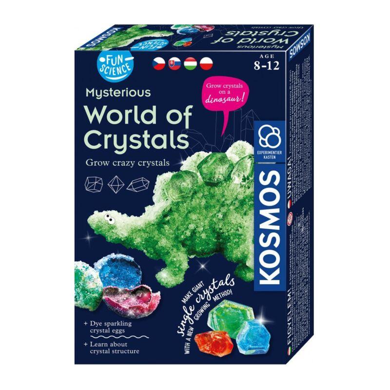 FunScience Mysterious World of Crystals kísérletező készlet
