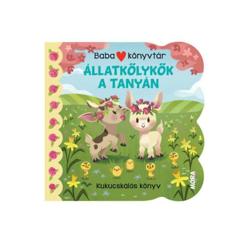 Babakönyvtár – Állatkölykök a tanyán - Kukucskálós könyv